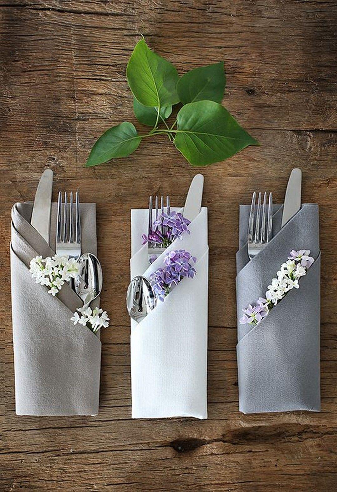 Wunderbare Hochzeitstafel-Einstellungs-Ideen – Onechitecture   – DIY Home Decor