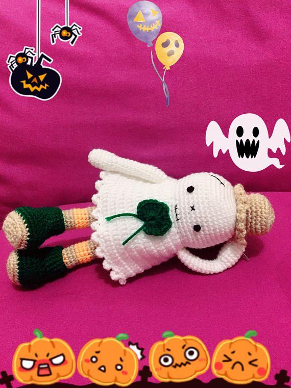 Halloween Ghost Crochet Amigurumi PDF Pattern | Crochet I Like ...