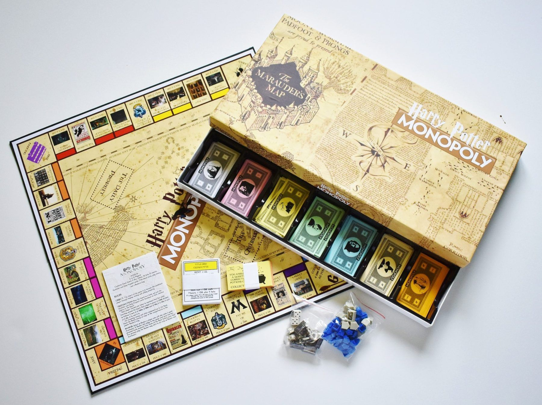 DIY Harry Potter Monopoly Game with FREE Printables