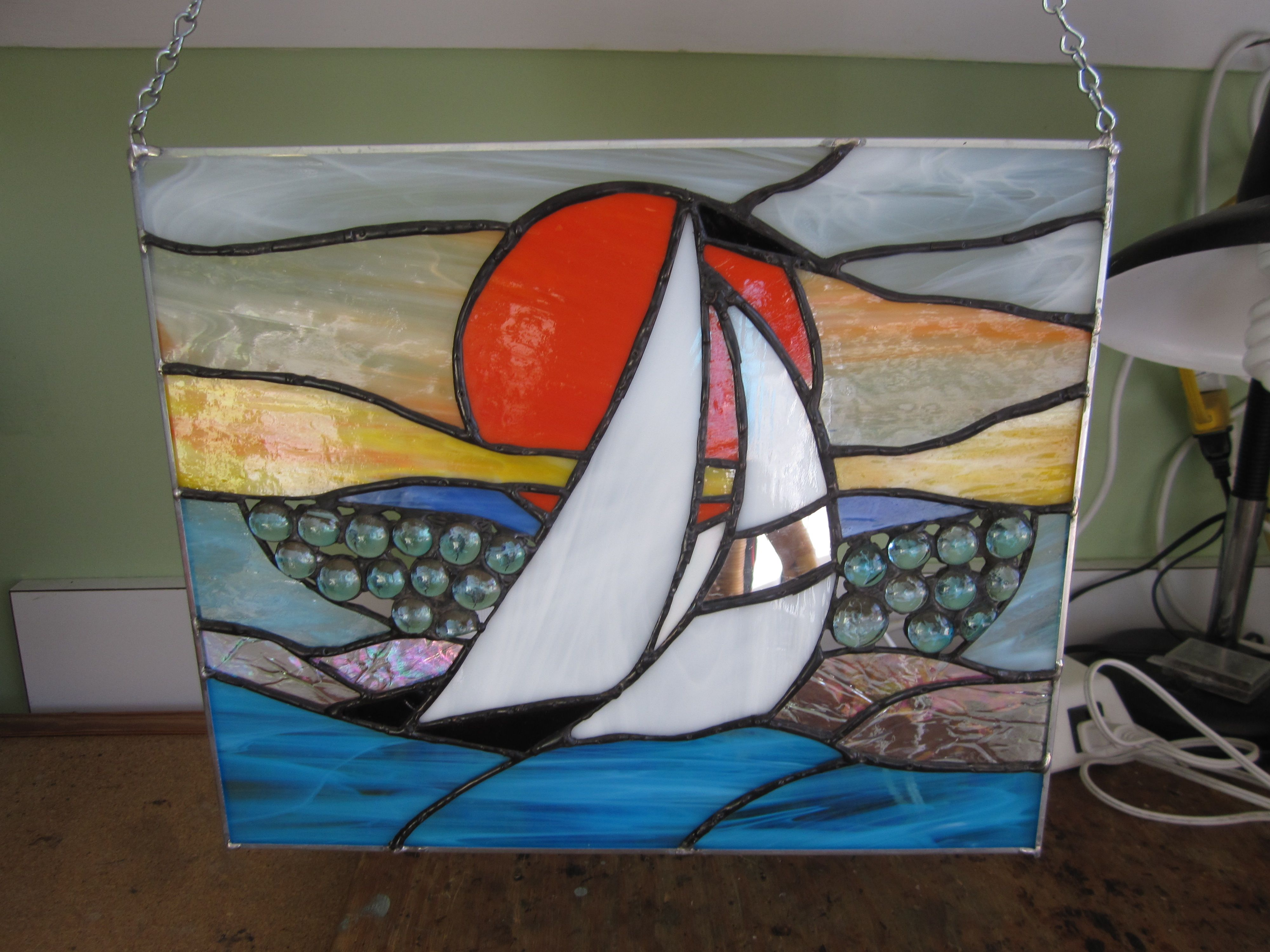 Sail Boat By Naoko 3 直子 Painting Art Outdoor Gear