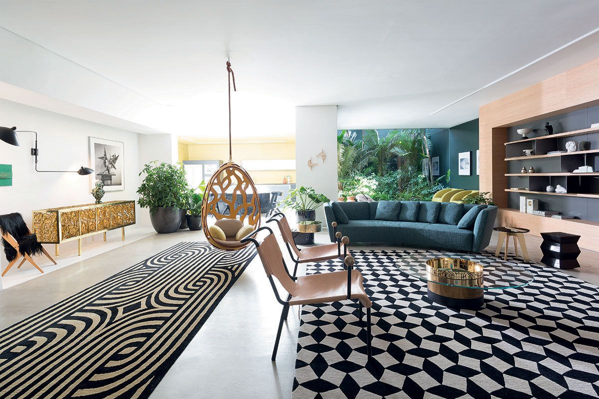 American modern living room - Casa Vogue Brazil Experience Conference Roomterraceamerican Modernlobby Loungeoutvogueliving