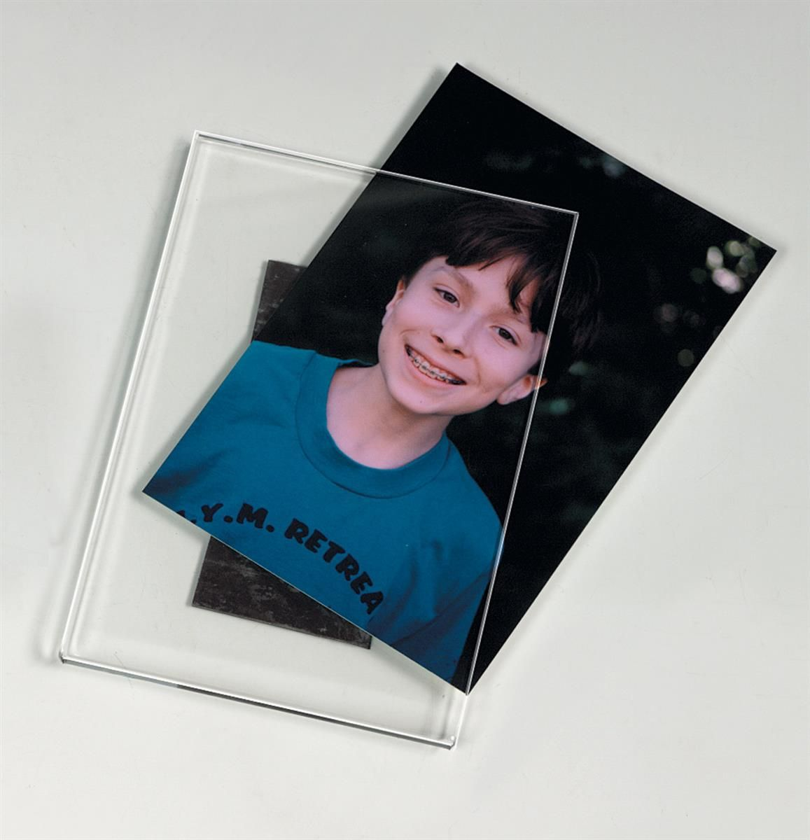 Workshop Series 4 X 6 Acrylic Picture Frame With Magnetic Backer
