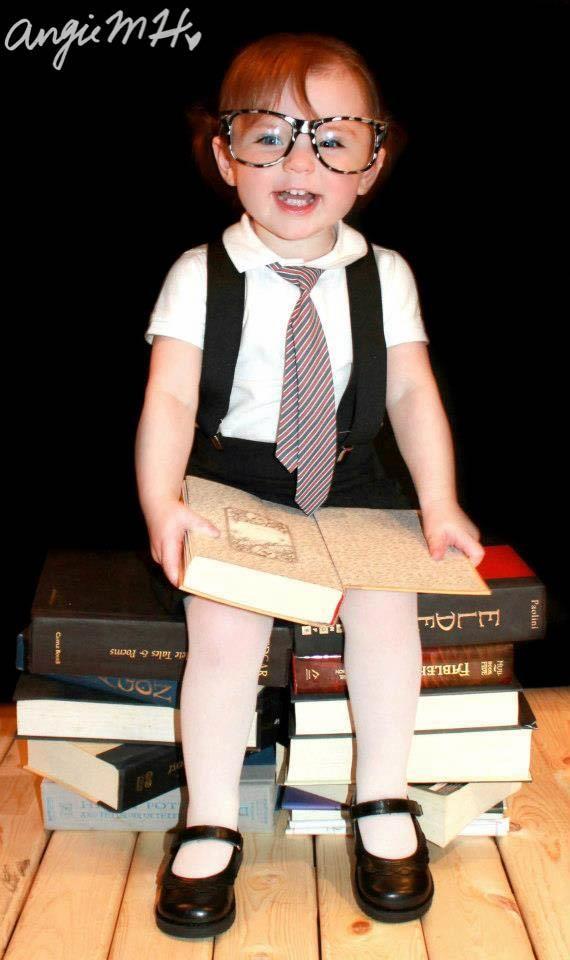 https://www.facebook.com/AngelaMarieHphotography  Little girl nerd
