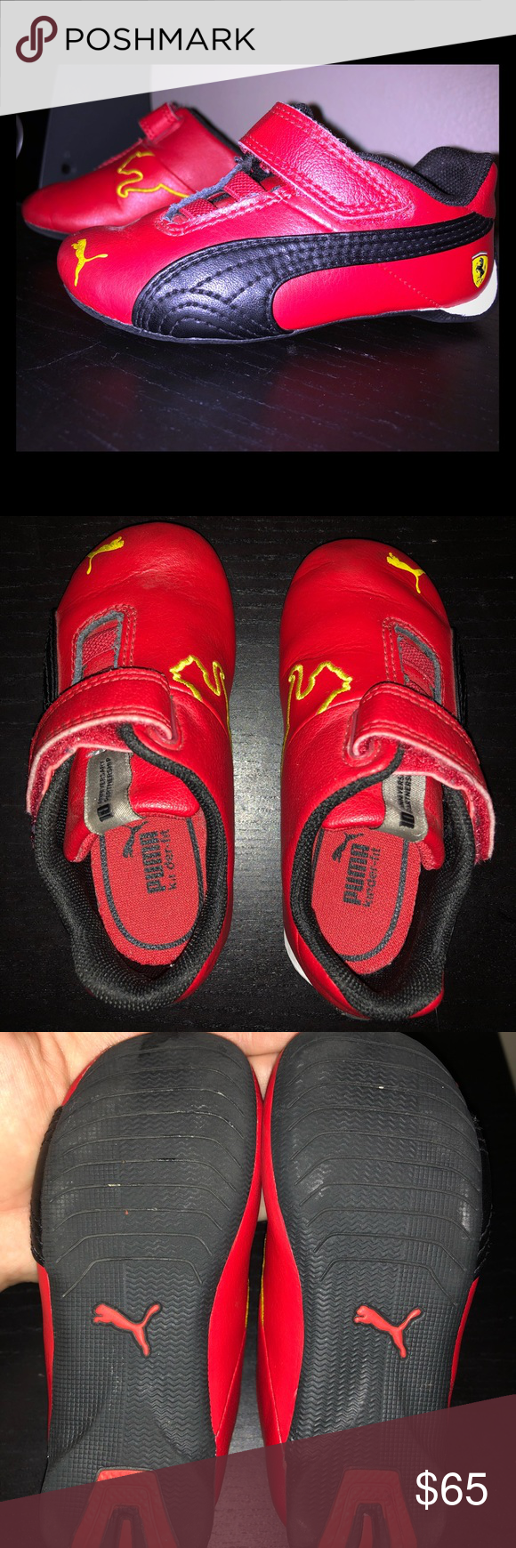 7784f9f2f00489 PUMA FERRARI ALMOST NEW SNEAKERS IN RED SIZE 6🔥 These babies are IT ...