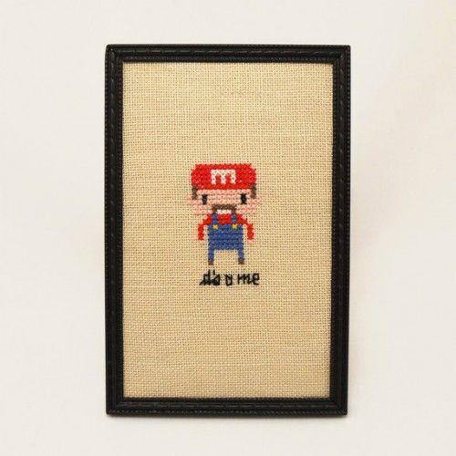 Its A Me Mario Cross Stitch