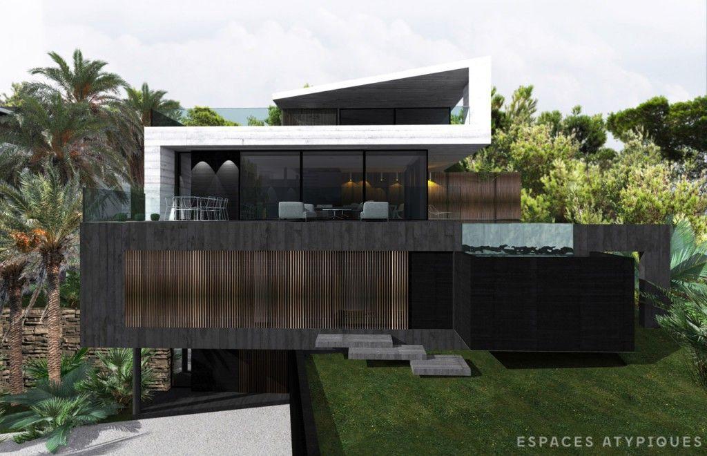 marseille villa d architecte togu a vue mer panoramique espaces atypiques marseille. Black Bedroom Furniture Sets. Home Design Ideas