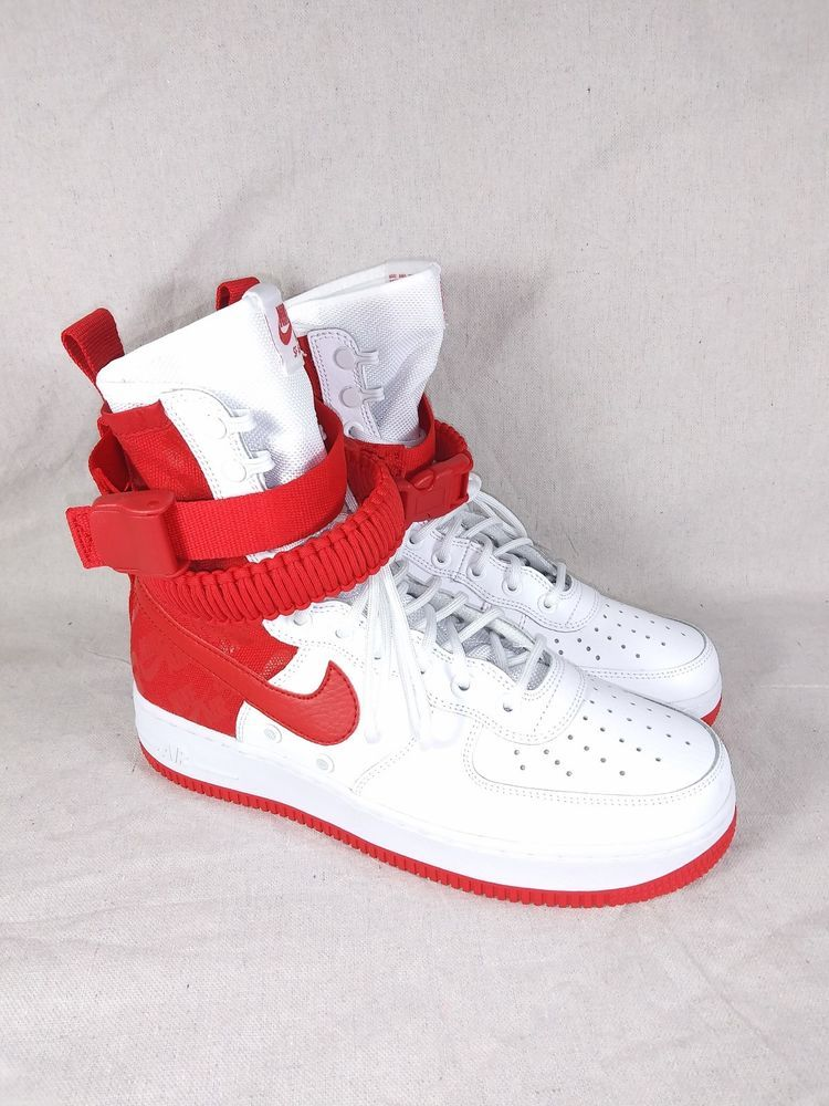 301aa7dff936  AR1955-100  NIKE SF AIR FORCE 1 WHITE RED MEN SNEAKER SIZE 8  fashion   clothing  shoes  accessories  mensshoes  athleticshoes (ebay link)