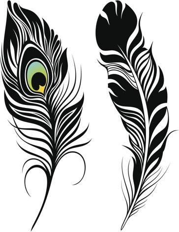 Peacock Feather Tattoo Design Jpg 364 471 Peacock Feather Tattoo Feather Art Feather Drawing