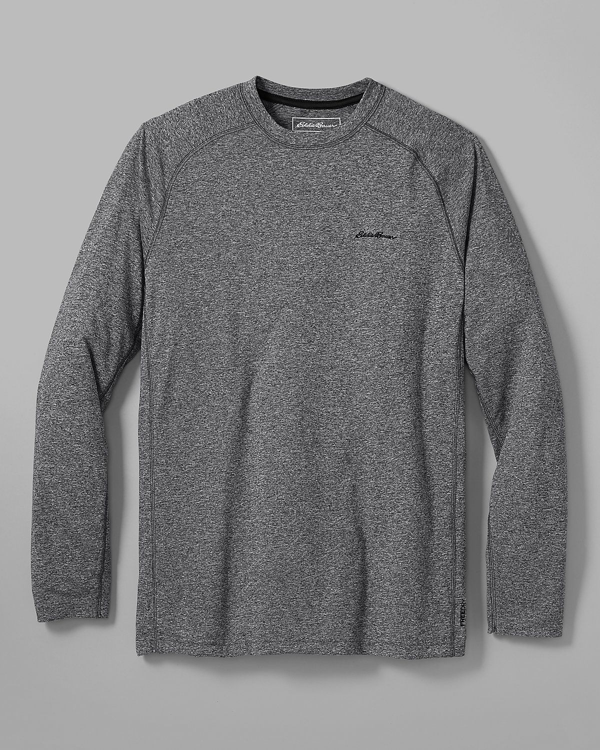 452e7786 Men's Resolution Long-sleeve T-shirt | Eddie Bauer L-Tall in Grey or Black