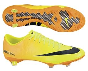 newest collection 7ad5b a8209 The Volt, Bright Citrus, and Black Nike Mercurial Vapor IX is bound to be  an instant hit in the soccer world. The bright and flashy colors are not  the only ...