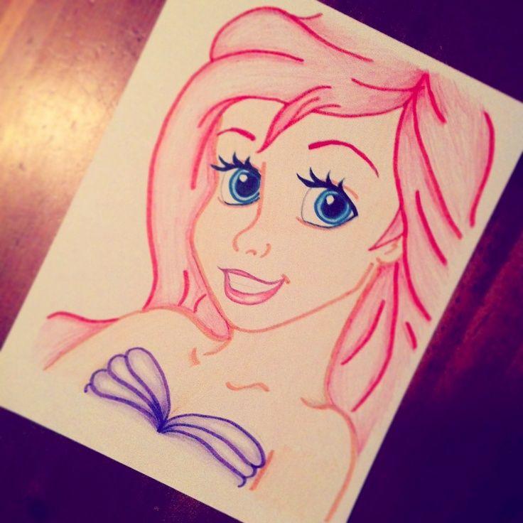 easy mermaids drawings - photo #47