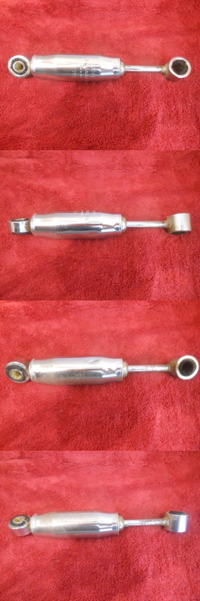 Snowmobile Parts 23834: Used Rupp Chrome Shock Nitro Magnum Rally ...