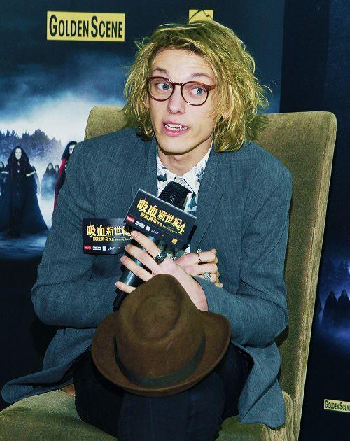 Twilight Saga Breaking Dawn Part 2 Hong Kong Premiere Press Conference Jamie Campbell Bower Jamie Campbell Jamie