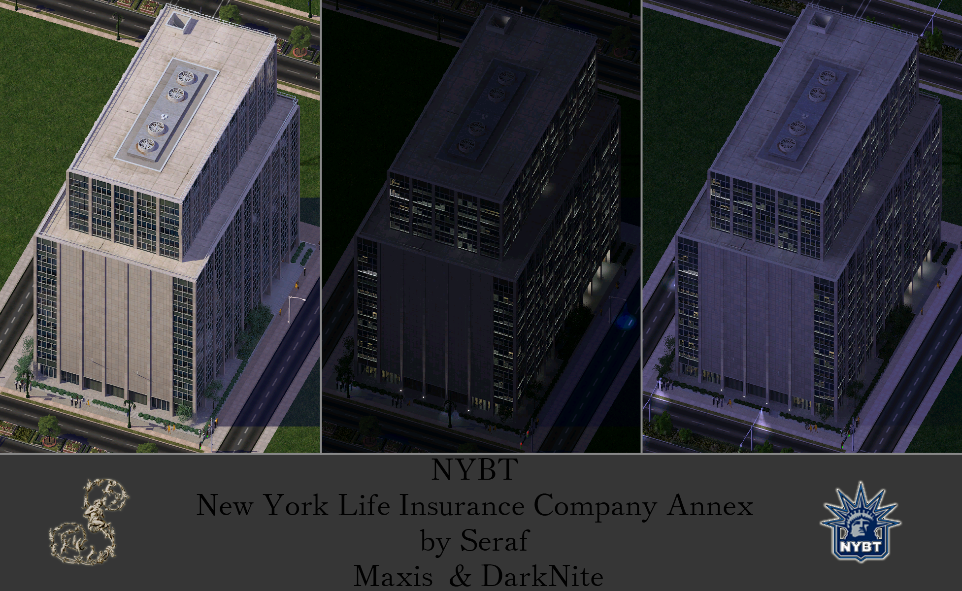 Nybt New York Life Insurance Company Annex Simcity 4 Buildings