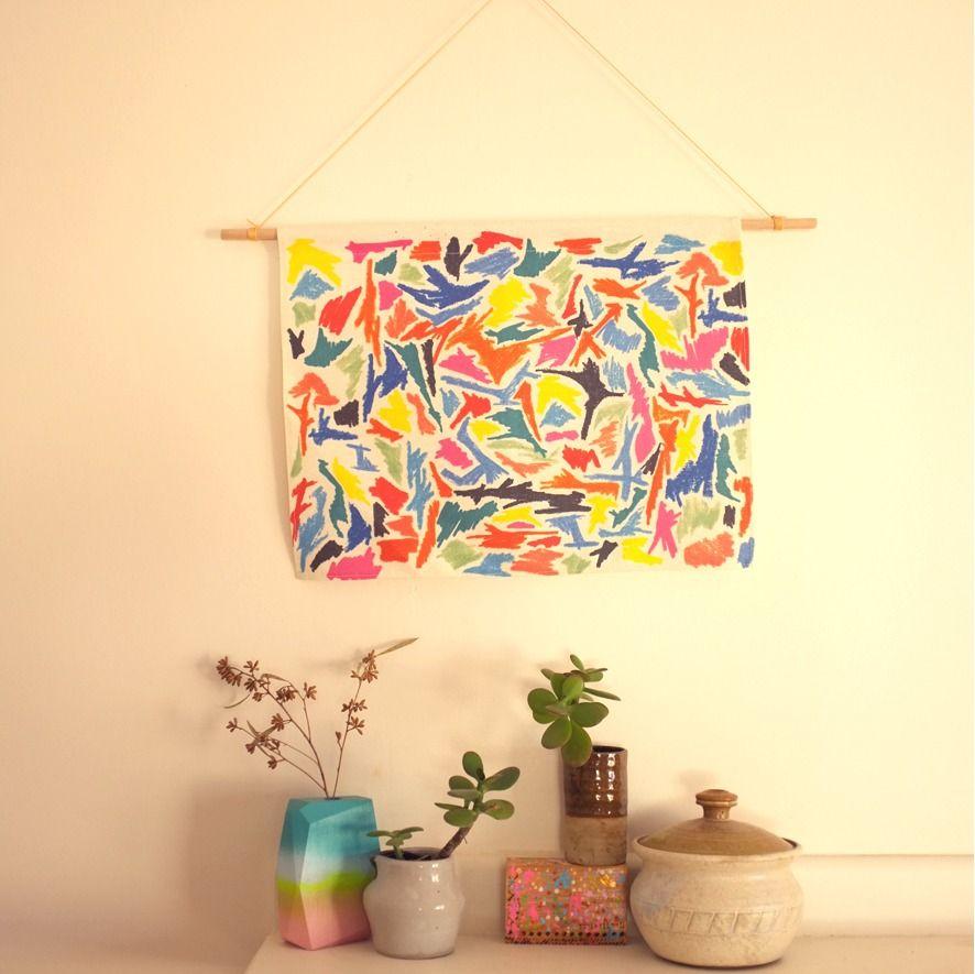 Scribble Wall Hanging | Stampel | little things | Pinterest | Diy ...