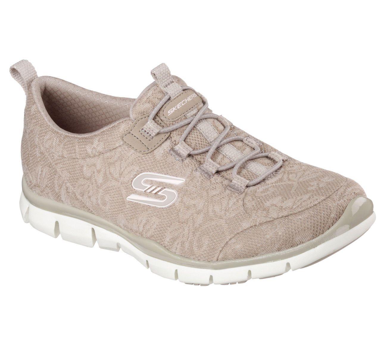 Skechers 22764, Sneakers Basses Femme - Beige - Taupe, 22,5 EU