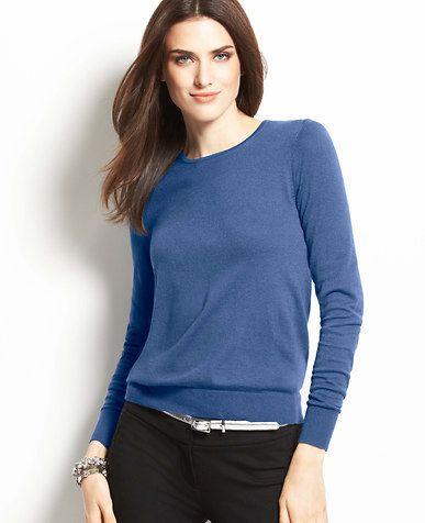 Tall Back Zip Sweater