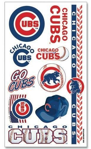 Henna Tattoo Chicago Near Me: Chicago Cubs Temporary Tattoos