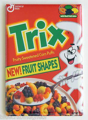 Fruit Shaped Trix FRIDGE MAGNET cereal box
