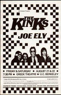 Rare 1981 The Kinks