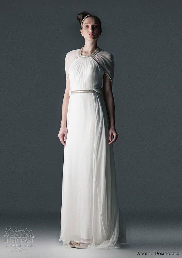 wedding dressesadolfo dominguez | bridal: couture gown