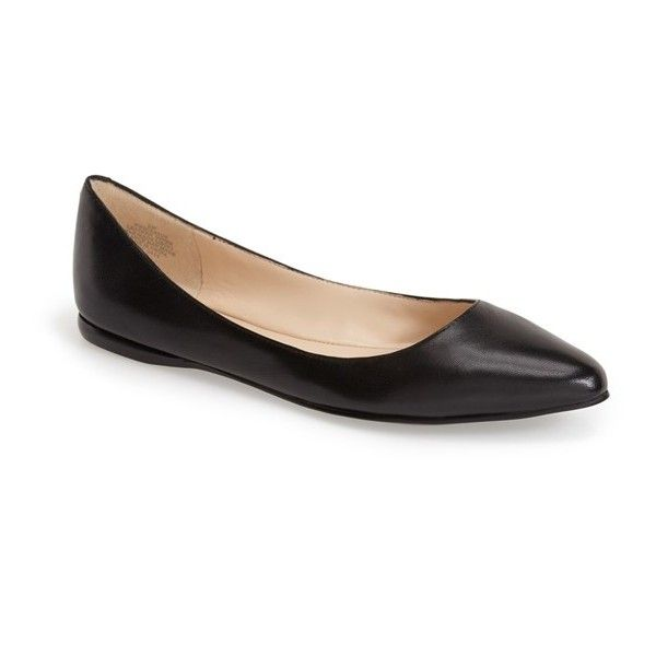 Nine West 'Speakup' Flat (673.150 IDR) ❤ liked on Polyvore featuring shoes