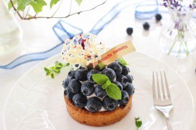 「チーズクリーム入り!ぎっしりブルーベリータルト!!」hoppe   お菓子・パンのレシピや作り方【corecle*コレクル】