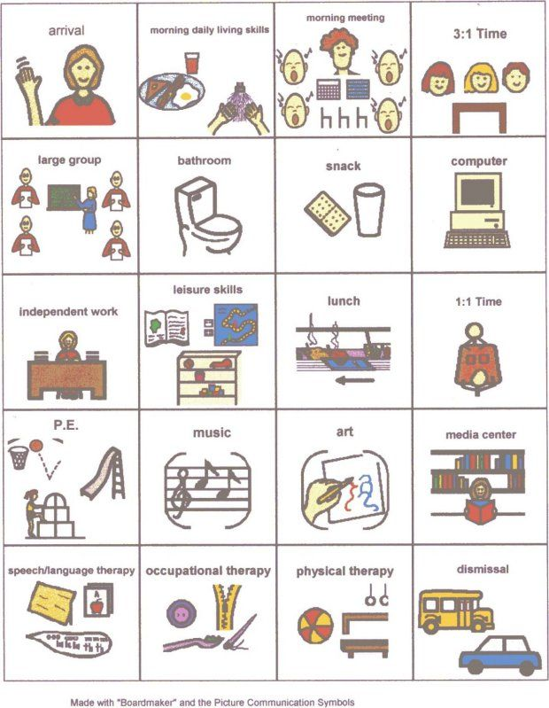 image about Visual Schedule Printable named Pin upon Visible Can help for ASD