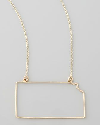 Love this kansas necklaceey have all the states gaugenyc love this kansas necklaceey have all the states gaugenyc gold aloadofball Gallery