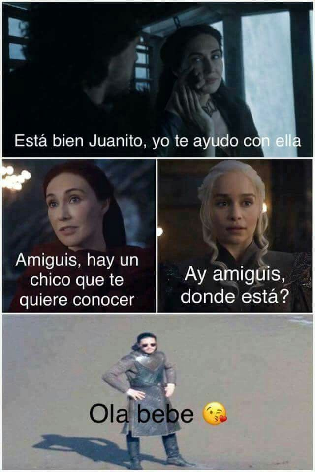 Pin de Zul Miranda en Game of Thrones   Memes, Memes ...