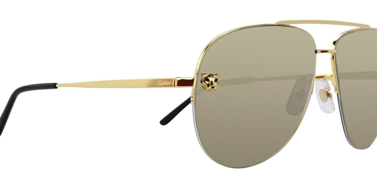 ee0fc21abe Cartier - Panthere Aviator ESW00094 sunglasses