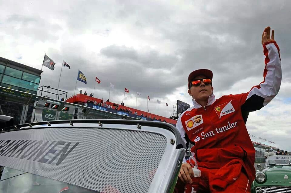 Raikkonen Australian GP 2014