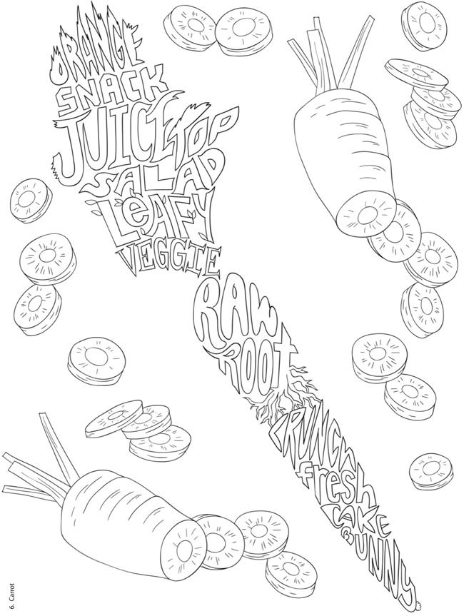 Creative Haven Delicious Whimsy : A Wordplay Coloring Book ...