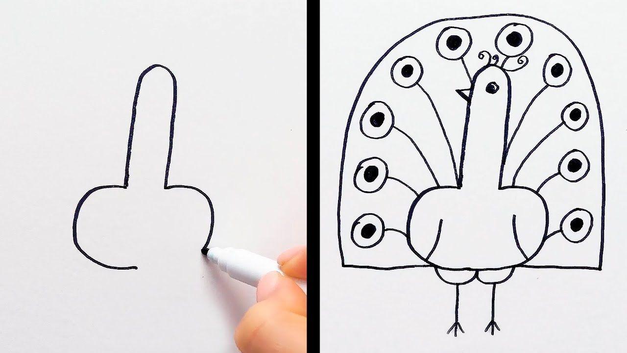 45 Things To Draw When You Re Bored In Class Youtube Drawing Tutorial Easy Fun Chalk Art Chalk Fun