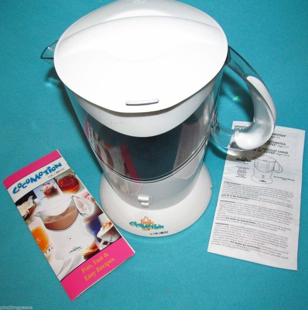 Mr Coffee Hot Chocolate Frother Cocoa Maker w