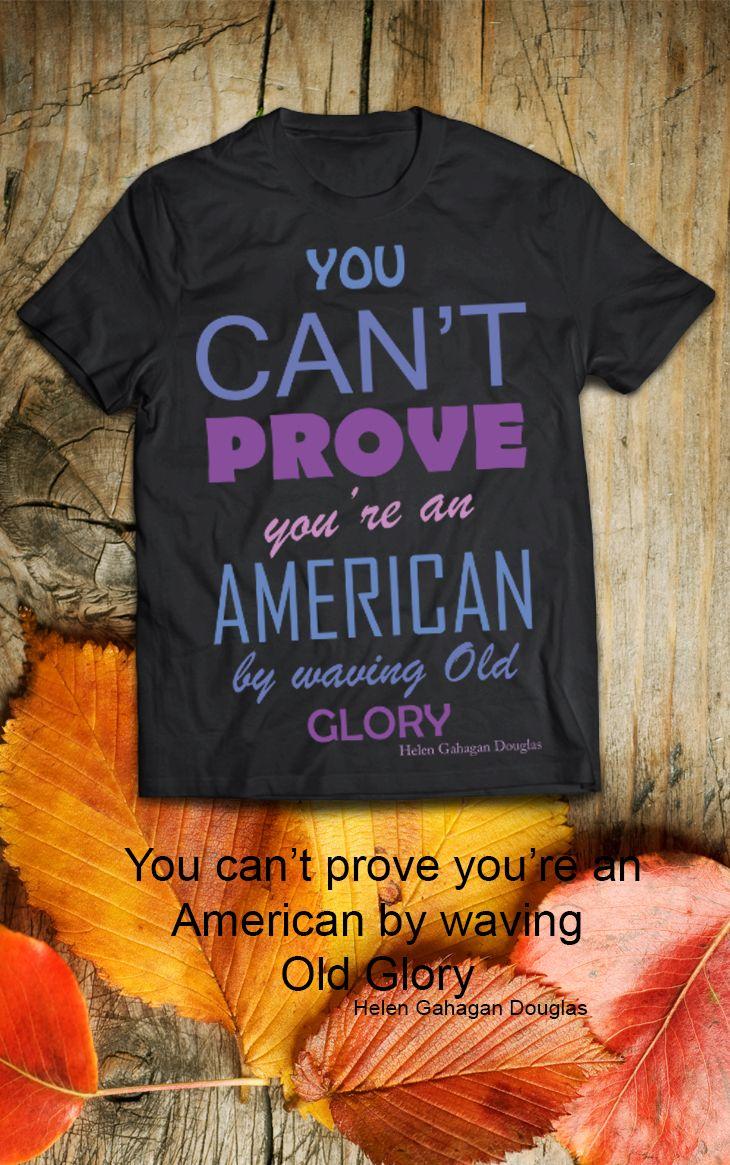 $19.99 You can't prove you're an American by waving Old Glory. Helen Gahagan Douglas