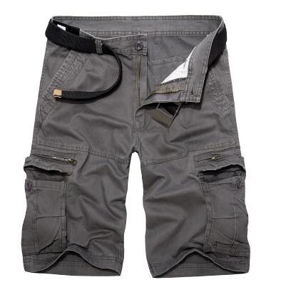 Herren Cargo Shorts kurze Hose Bermuda Short Cargoshort Militär Camo Sommerhose