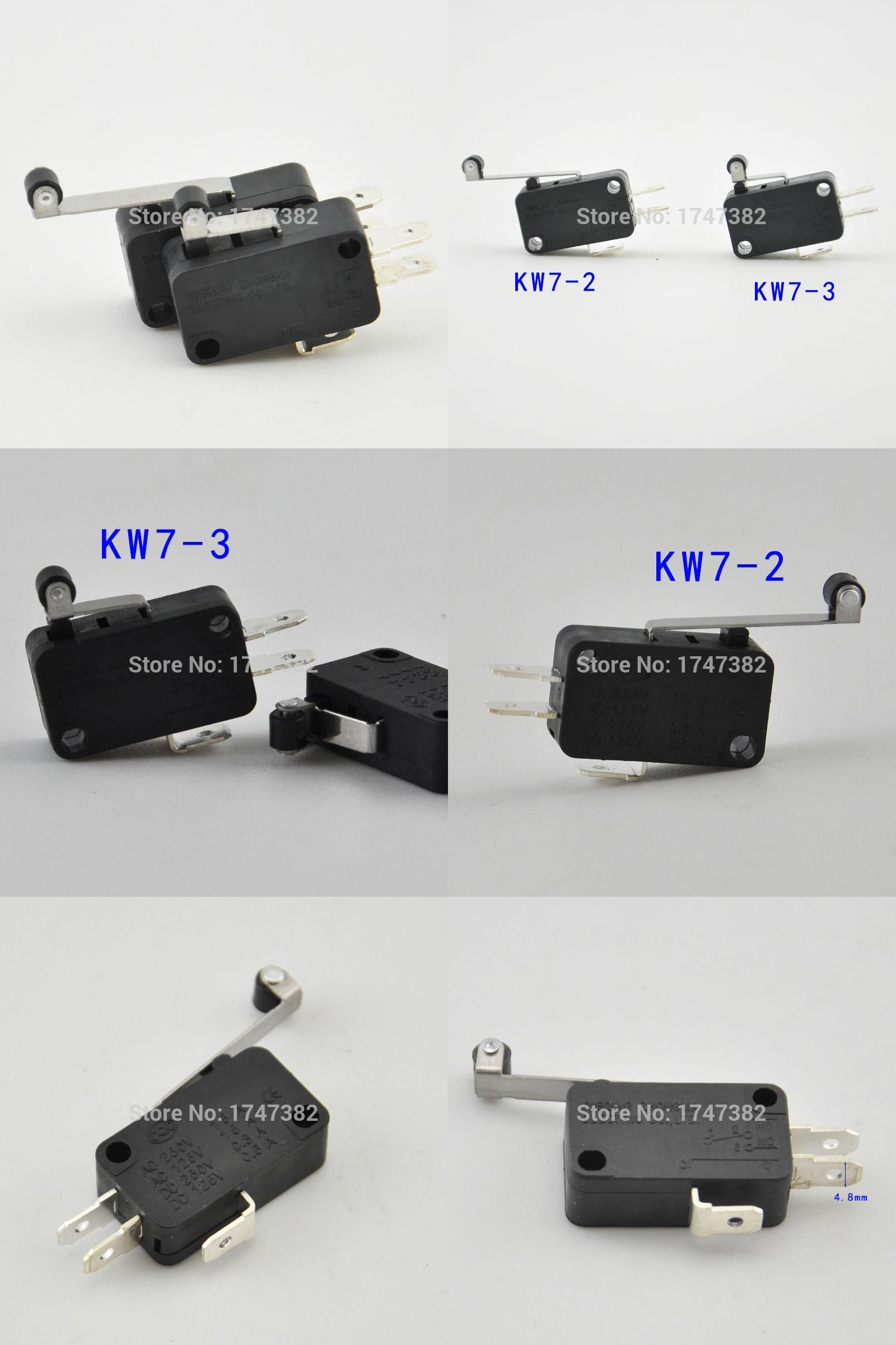 Visit To Buy 5pcs Lot New Micro Roller Long Handle Lever Arm Switch With Normally
