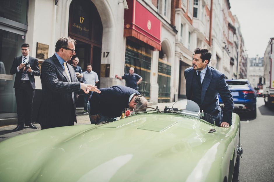 David Gandy by Amy Shore for @JaguarUK