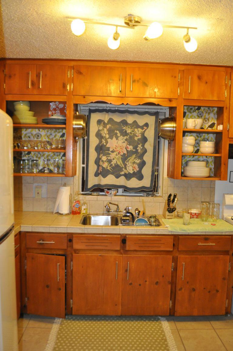 newkitchen3 | Knotty pine kitchen, Pine kitchen cabinets ...