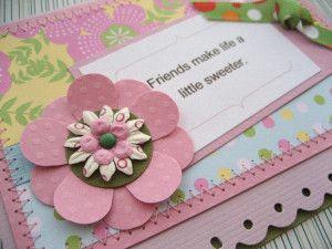 4 Handmade Card Ideas For Best Friend Friendship Cards