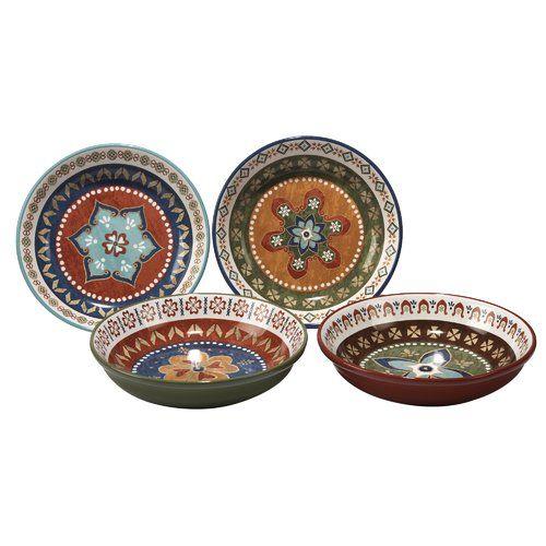 Dinnerware  sc 1 st  Pinterest & Found it at Wayfair - Brimson 4 Piece Pasta Bowl Set | Dinnerware ...