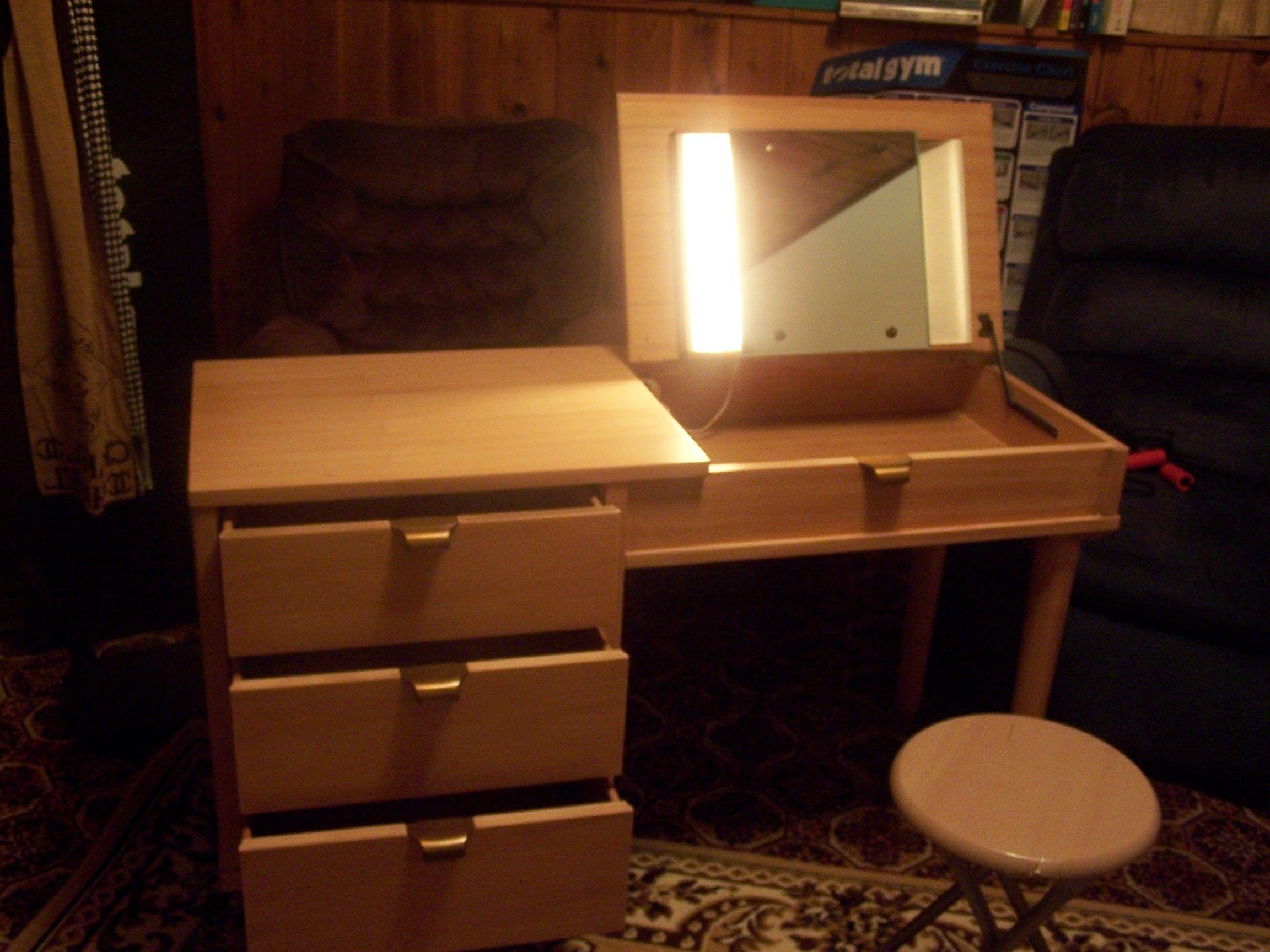 drexel bedroom set%0A Edward Wormley vanity drexel