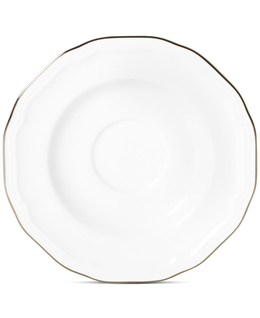 Mikasa Antique White Platinum Oval Platter