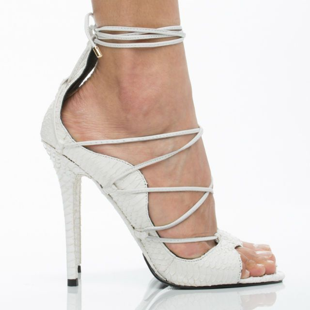 Lust for Life Demon Lace up Heels