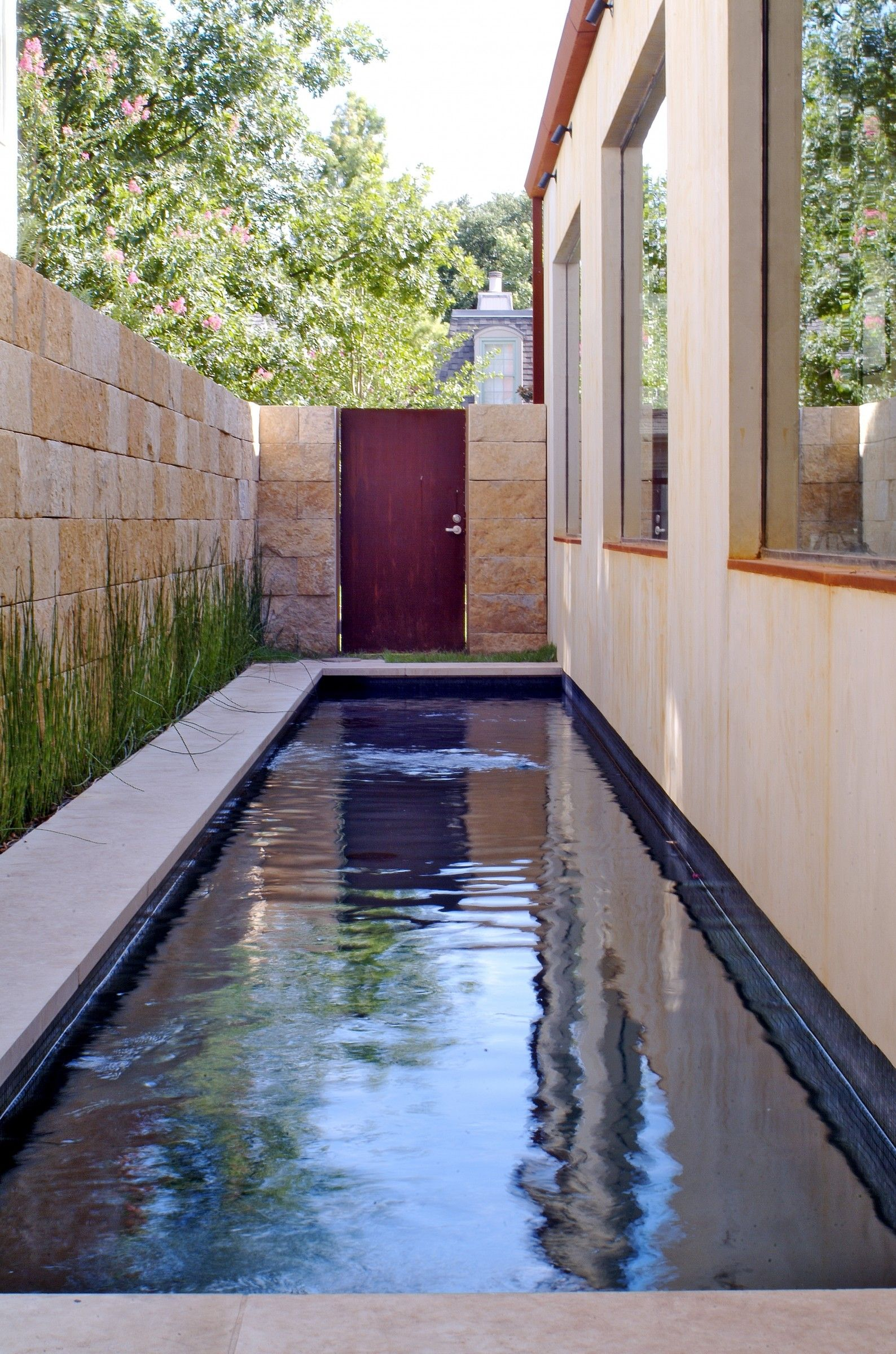 Contemporary Richard Drummond Davis Architects Swimming Pool Designs Pool Designs Small Backyard Pools