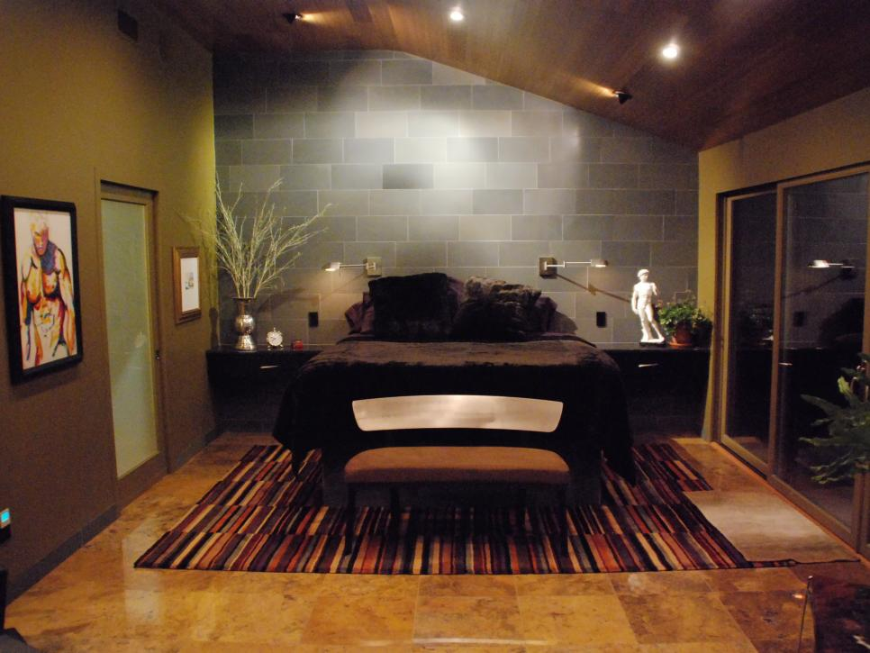Ditch The Carpet 12 Bedroom Flooring Options Hgtv Tile Bedroom Bedroom Flooring Bedroom Flooring Options