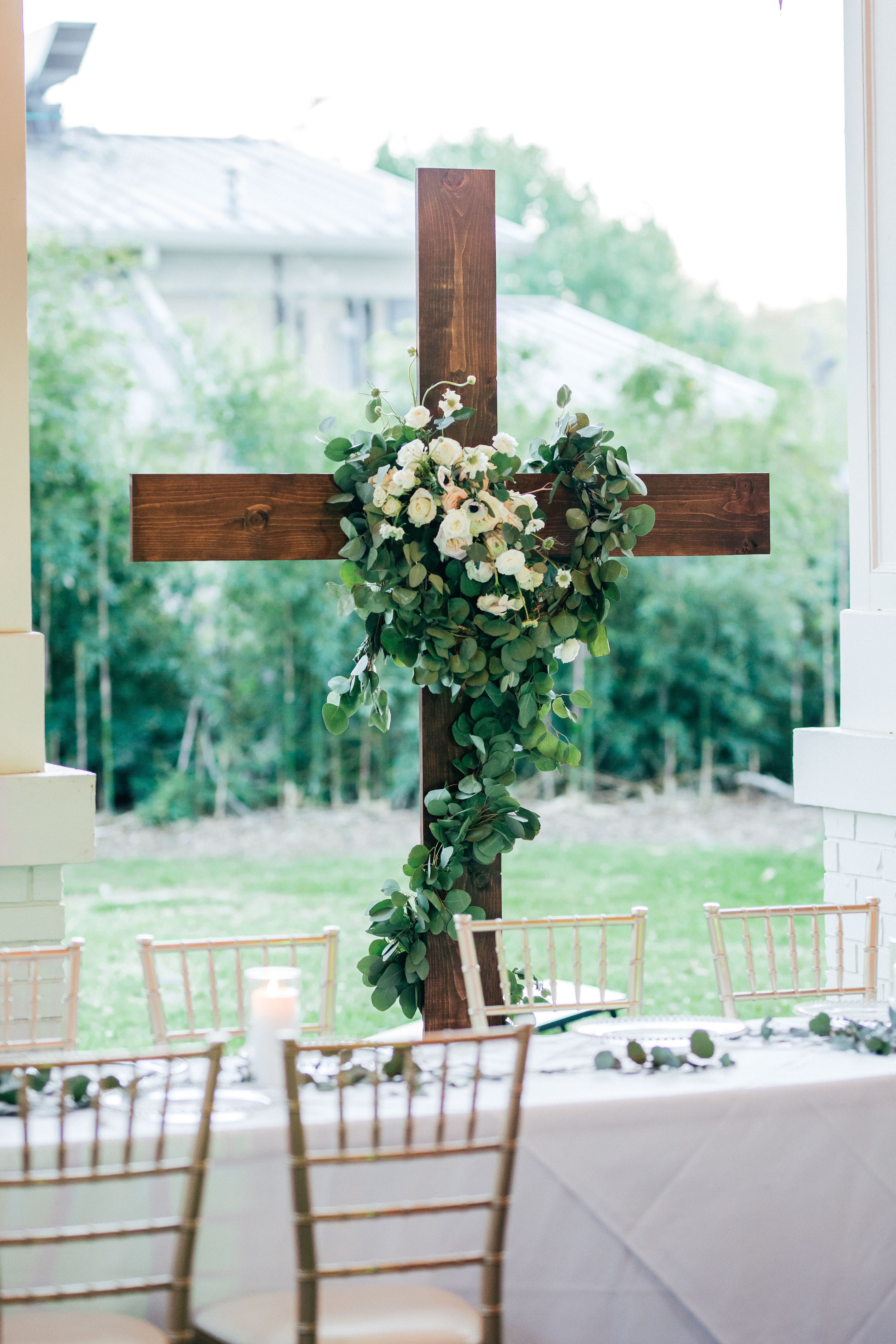 Wooden Cross Wedding Decorations Wooden Cross Dream Wedding
