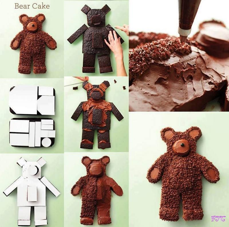 Chocolate Sheet Cakes Recipe Bear cakes Cake and Cake kids