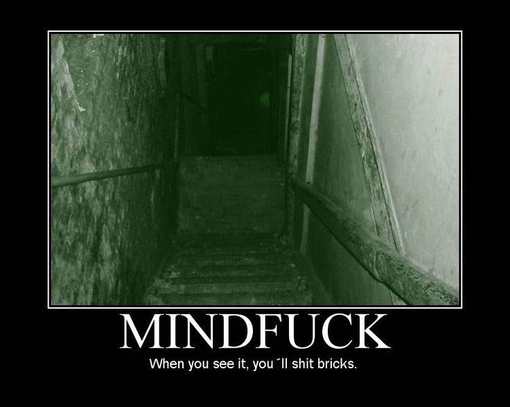 Scary Shit Brix Demotivational Poster Cellar Youll Shit